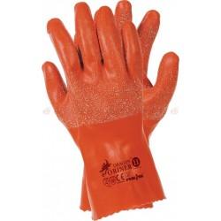 Rękawice gumowe ocieplane...