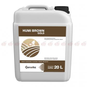 Humi Brown GOLD 20l