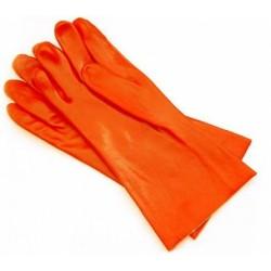 Rękawice ochronne PCV czerwone